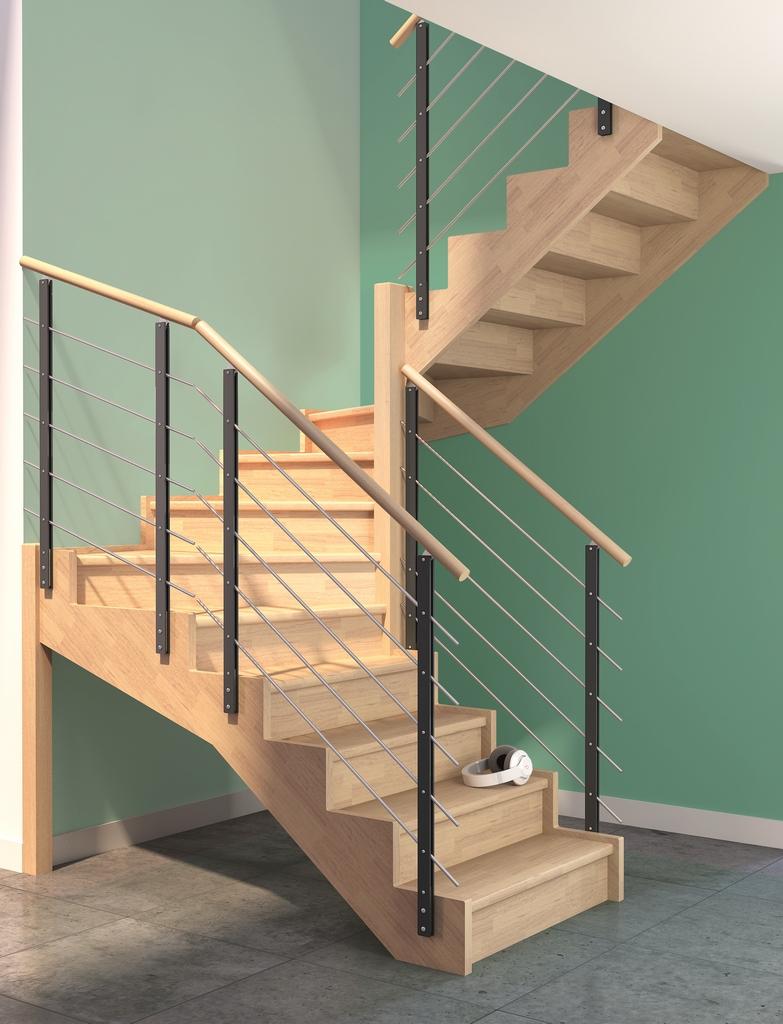 paris g22 escaliers plasse. Black Bedroom Furniture Sets. Home Design Ideas